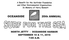 Surf for the Sea Banner 2016
